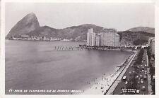 BRAZIL - Rio de Janeiro - Praja do Flamengo - Photo Postcard 1959