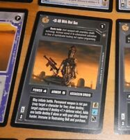 CCG STAR WARS RARE CARD CARTE Enhanced Cloud City IG-88 With Riot Gun NM