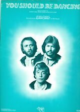 The Bee Gees sheet music You Should Be Dancing barry robin maurice gibb excellen