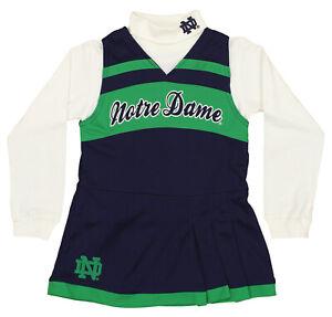 Outerstuff NCAA Little Girls (4-6X) Notre Dame Fighting Irish Cheer Jumper Dress