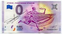 ATHENS PANATHEANIC 2019 0 Euro Souvenir Note Original Signature - Richard Faille