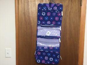 Vera Bradley Hanging Organizer Travel Bag in Ellie Flowers