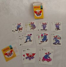 Vintage 1972 Educational Memory Card Game BOZO by Larry Harmon Ages 4-10