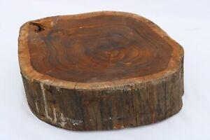 Brownheart Epoxy Exotic Live Edge Wood Tree Slice Slab Lumber Table Base 4x12x14