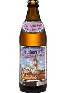 20x 0,50 Liter Flasche Augustiner Oktoberfestbier - Mehrweg-Pfand -