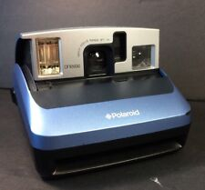 Polaroid One 600 Instant Photo Film Camera 100mm Light Blue Parts or Repair Only