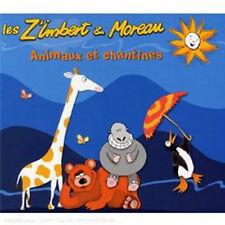 ANIMAUX ET CHANTINES - LES Z IMBERT ET MOREAU (CD DIGIPACK NEUF)