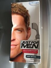 Just For Men Autostop Oxygen Activated Color Light Brown A25 Brand New
