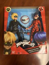 Miraculous Ladybug & Cat Noir 2 Pack Playmates - Ships from Us