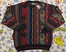 Vintage Sutter & Grant Coogi Style Cosby Biggie Ugly Sweater BNWT Men's Size L