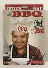 Archie McPhee Official Barbecue Bbq Chef Hat w/ Elastic Band Grill Accessory Nib