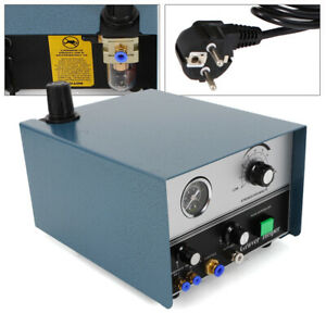 75W Pneumatic Impact Engraving Machine Double Ended Metal Jewelry Engraver 220V
