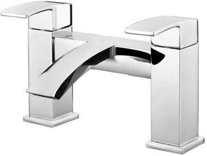 RAK Metropolitan 2-Hole Bath Filler Tap - Chrome