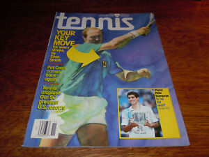 "VINTAGE NOVEMBER 1990 "" TENNIS "" MAGAZINE - STAN SMITH COVER - MINT"