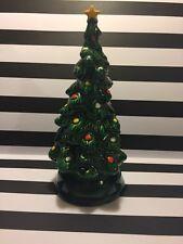 """Ceramic Christmas Tree Avon 9"""" Tall Vintage"""