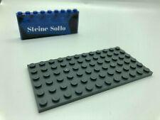 Lego ® 1x Platte 6x12 - 3028 - grau (dunkel) - plate - dark bluish gray