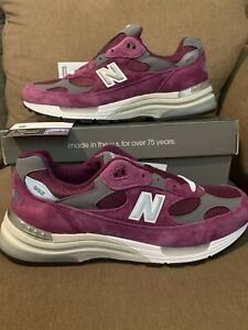 """New Balance 992 Made In USA """"Maroon"""" Men's Sizes M992BA Brand New In Box"""