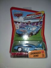 Disney Pixar Cars Damaged King RaceORama series #82 RoR diecast Mattel