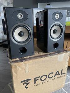 Focal Aria 906 Stand Mount Hifi Speakers Gloss Black