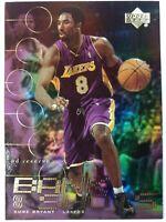 2000-01 Upper Deck UD Reserve Bank Shots Kobe Bryant #BK8, Insert, Lakers