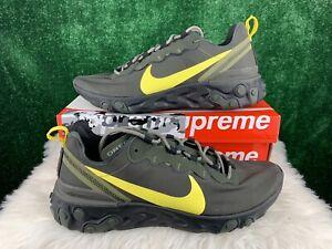 Nike React Element 55 Oregon Ducks Shoes CK4797-300 Men's Size 13 NWOB
