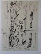 Paul COLLOMB - Le Portugal   - gravure signée #322ex + justificatif