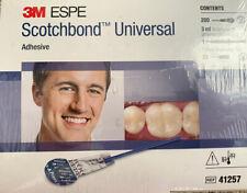 3m Scotchbond Universal Adhesive Light Cure Unit Dose Bulk Pack 200pk