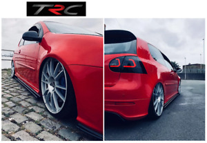 2-3 Week Pre order GENUINE Triple R Sideskirt splitters to fit VW Golf Mk5 R32