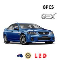 New Super White Led Light Upgrade Kit For Holden VE Commodore Low Beam Hi Parker