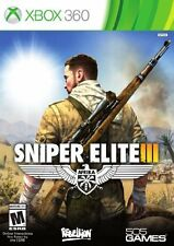 Sniper Elite III shooting fighting Weapons Video Game for Xbox 360