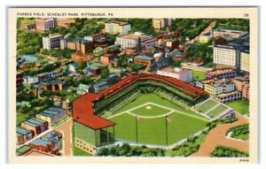PITTSBURGH, PA ~  FORBES FIELD Pirates Baseball & Steelers Football Stadium