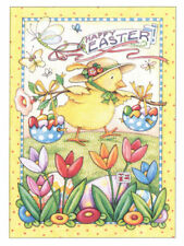 Happy Easter Chick Jelly Beans-Handcrafted Fridge Magnet-W/Mary Engelbreit art
