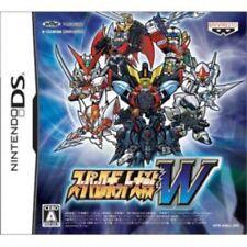 USED Nintendo DS Super Robot Wars W Taisen W game soft