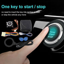 Smart Rfid Car Alarm Keyless Push Engine Start Button Lock Ignition Immobilizer