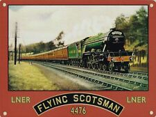 New 50x70cm LNER Flying Scotsman extra large jumbo metal advertising wall sign