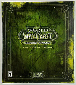 World of Warcraft Burning Crusade Collector's Edition - Excellent - LN
