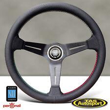 Nardi Steering Wheel DEEP CORN Perforated Leather Dish 350mm 6069.35.2087