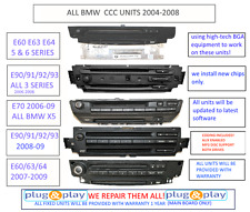 ANY BMW MINI CCC UNIT NAVIGATION REPAIR SERVICE E60 E92 E63 E70 E9X CODING