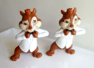 2 Disney Alvin and the Chipmunks Theodor Talking Plastic Toy (Only 1 is Talking)