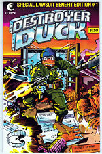 New ListingDestroyer Duck #1 Near Mint Minus 9.2 First Appearance Of Groo Jack Kirby Art