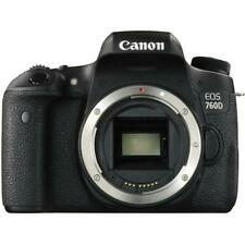 Canon EOS 760D 24.2MP Digital SLR Camera Body Only