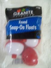 """Granite Outdoors Snap on Floats , Bobbers 1-1/2"""""""