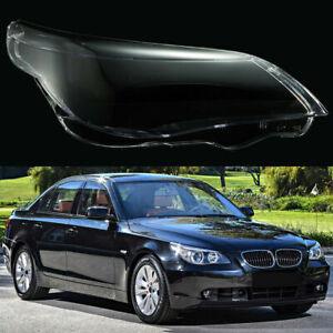 Headlight Cover Headlamp Lens For BMW 5 E60 E61 525i 530i 545i 550i 2003-2010