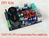 LM1875 2.0 Amplifier Board C1237 BTL Circuit Protection GC 50W+50W Stereo HiFi