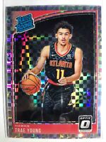 Panini Donruss Optic 2018/19 Trae Young Checkerboard Prizm Rookie #198