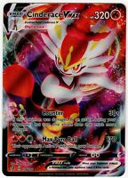 CINDERACE VMAX FULL ART RARE REBEL CLASH 036/192 SWORD & SHIELD POKEMON CARD