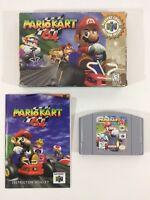 Mario Kart 64 Nintendo 64 N64 CIB Complete N 64