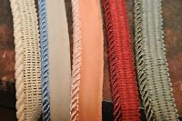 Cording/edging with lip..sewing/quilting/decor..various colors, 10 yards