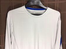 Mens FILA SPORT Gray 2XL Long sleeve Tee Athletic T-Shirt Size XXL