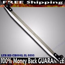 Rear Tie Bar FOR 92-95 Honda Civic/93-97 Del Sol/94-01 Integra SILVER